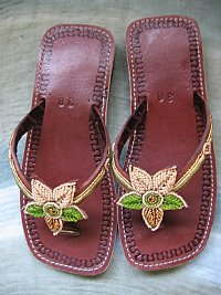 Specially Handcrafted African Beaded Sandals